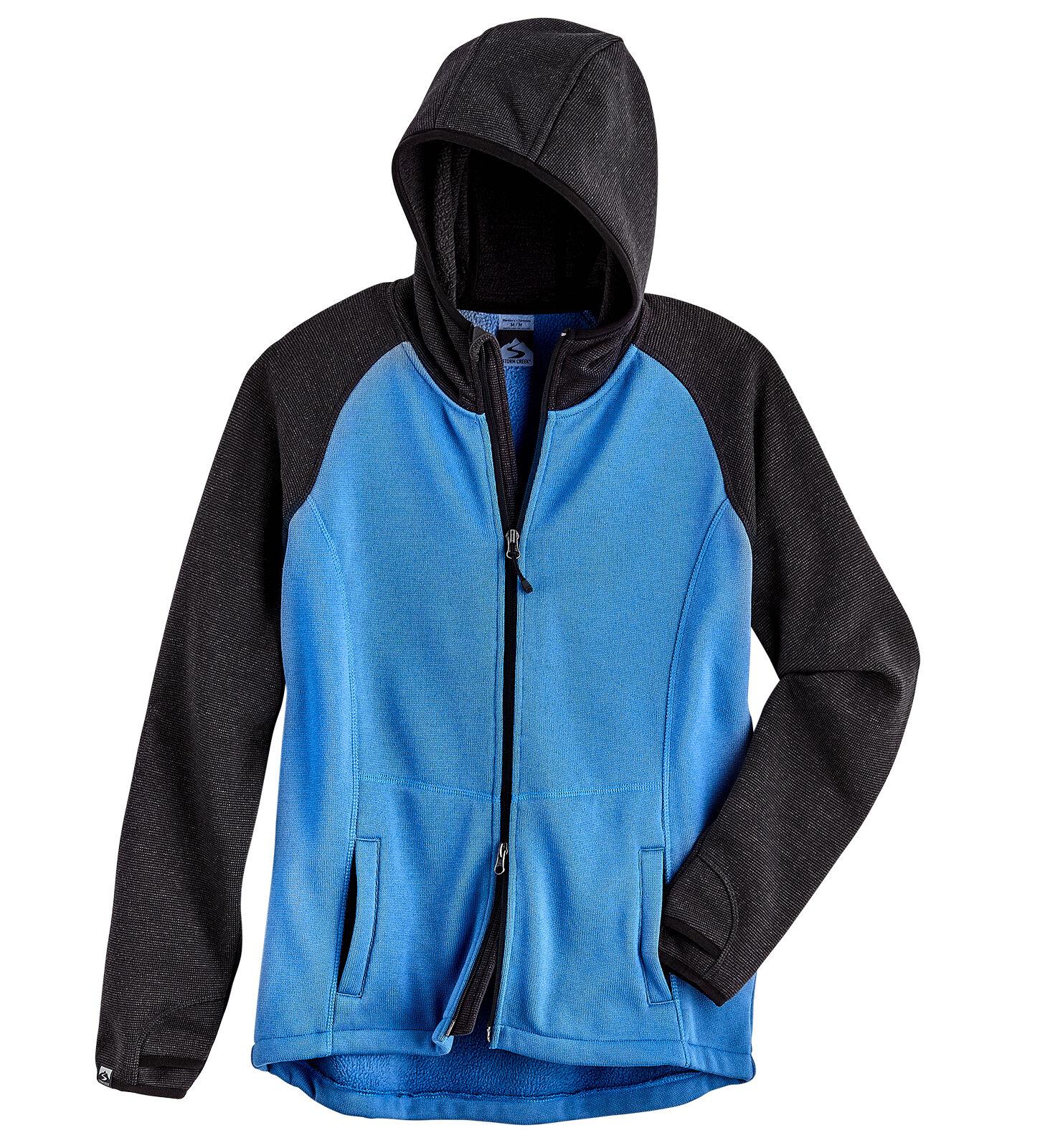 Storm Creek 4525 - Women's Eco-Sweaterfleece Full Zip Hoodie