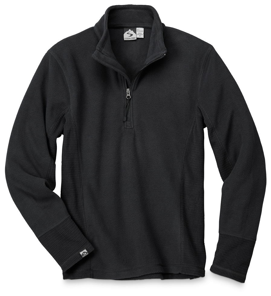 Storm Creek 4609 - Men's Drop Needle Microfleece Pullover ...