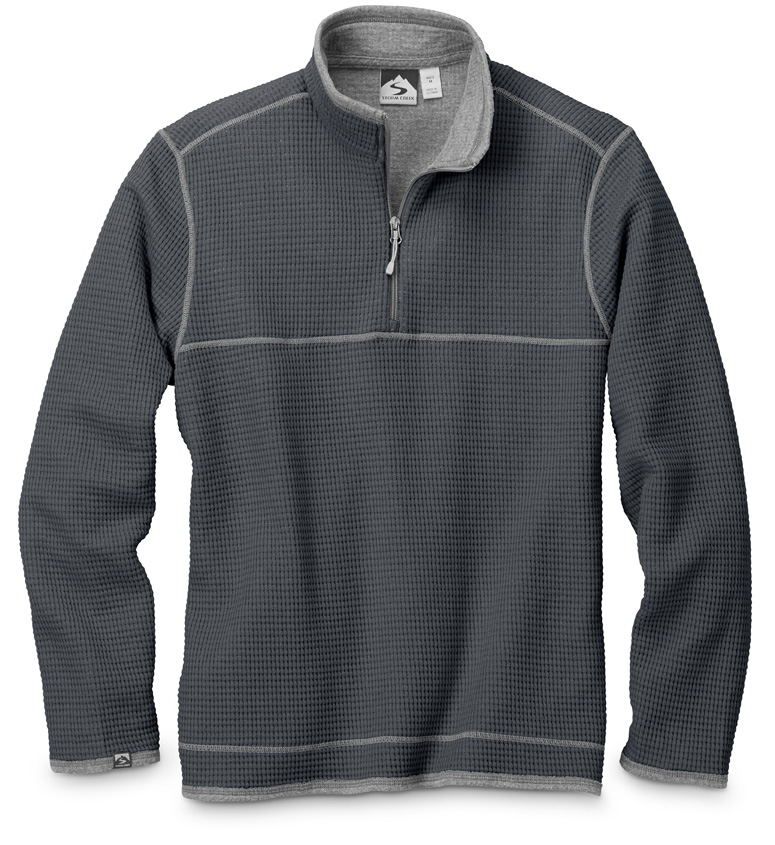 Storm Creek 2920 - Men's Waffle Knit Pullover 'Jarret'...