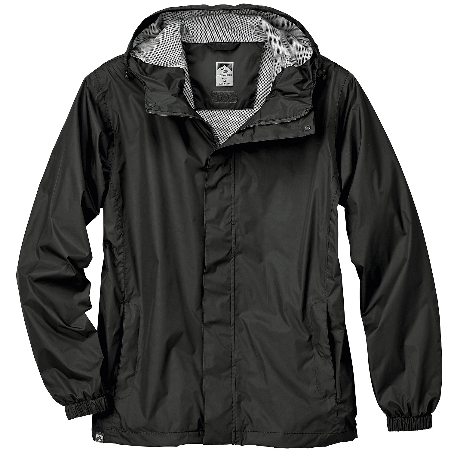 Storm Creek 6560 - Men's 'Rupert' Packable Rain Jacket