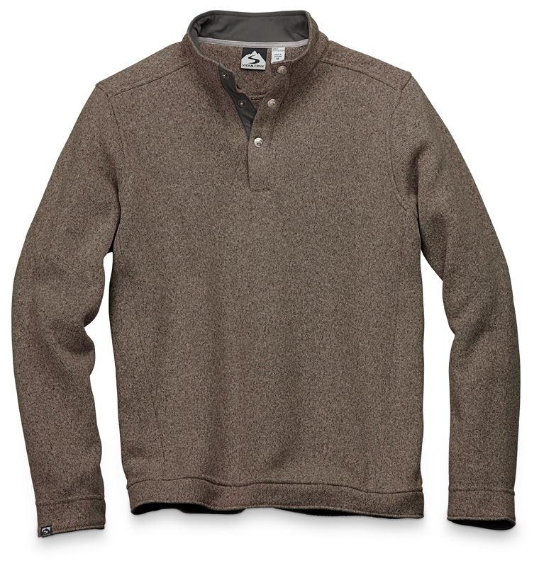Storm Creek 4640 - Men's Snap Front Sweaterfleece Pullover 'Vic'