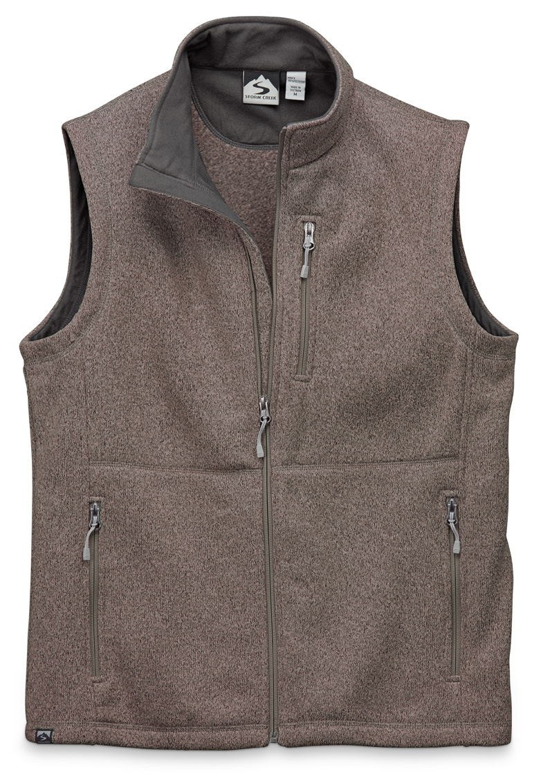 Storm Creek 4630 - Men's Sweaterfleece Vest 'Guy'