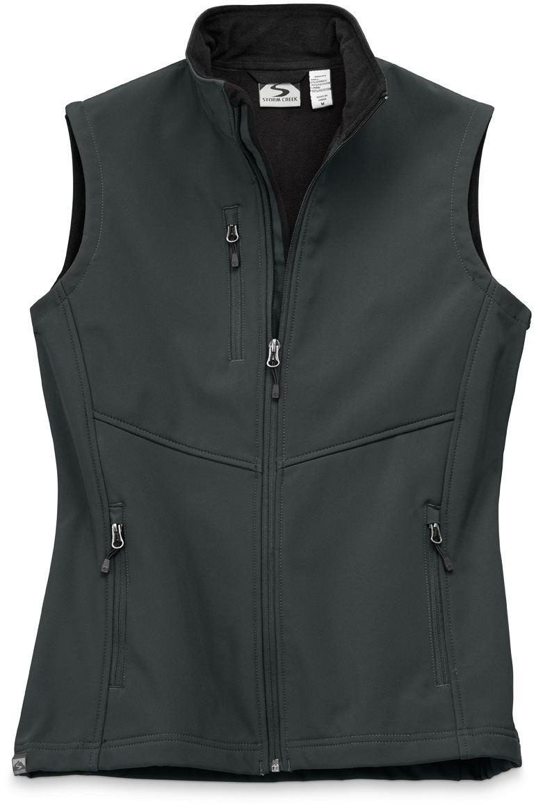 Storm Creek 4055 - Women's Mircofleece Lined Softshell Vest 'Deidra'