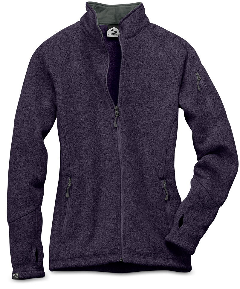 Storm Creek 4625 - Women's Sweaterfleece Jacket 'Celine'...