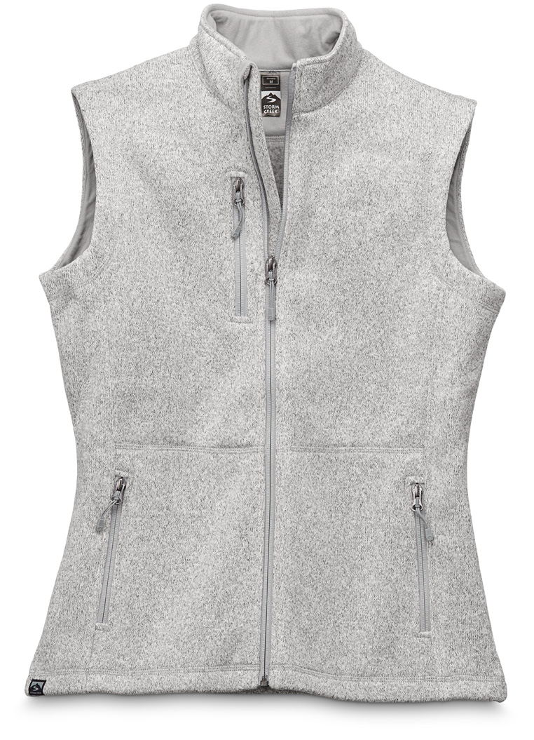 Storm Creek 4635 - Women's Sweaterfleece Vest 'Christa'...