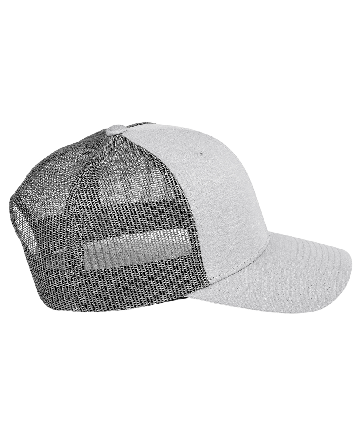 Team 365 TT802 - Yupoong® Adult Zone Sonic Heather Trucker Cap