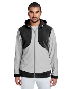 Team 365 TT94 - Men's Rally Colorblock Microfleece Jacket