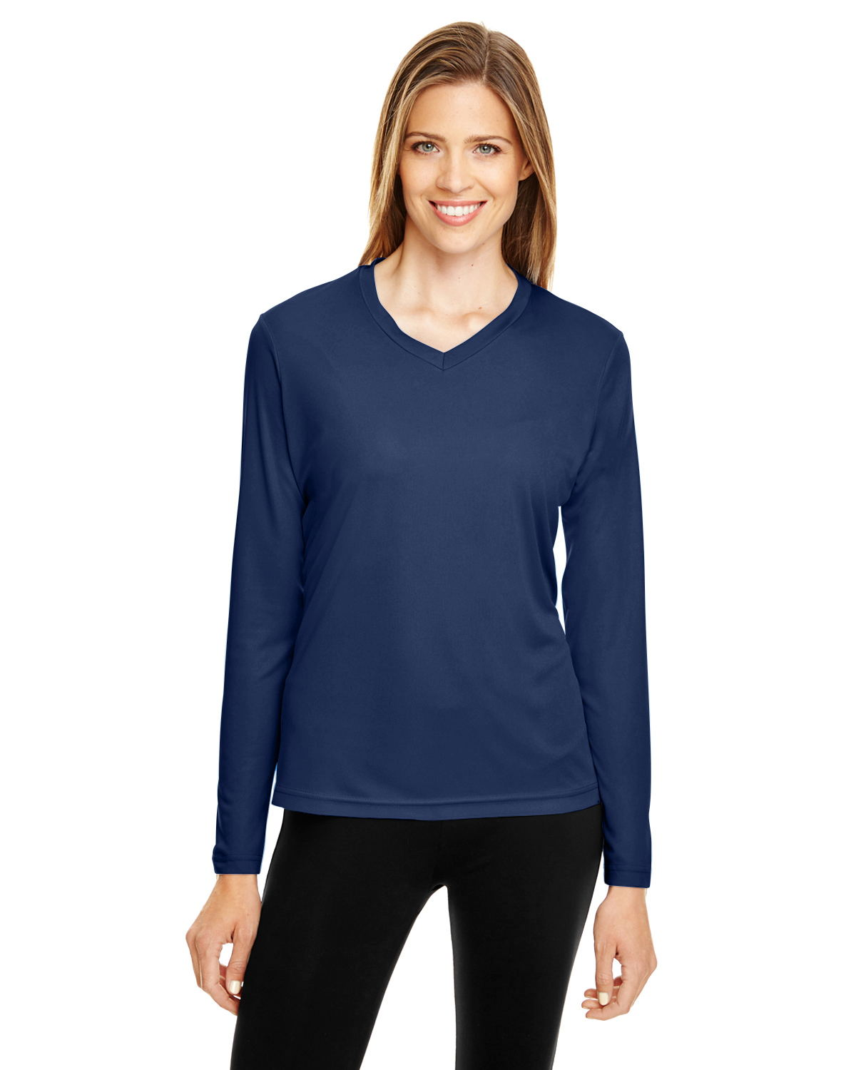 Team 365 TT11L - Women's Zone Performance Long-Sleeve ...