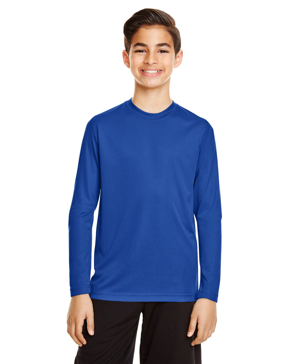 Team 365 TT11YL - Youth Zone Performance Long-Sleeve ...