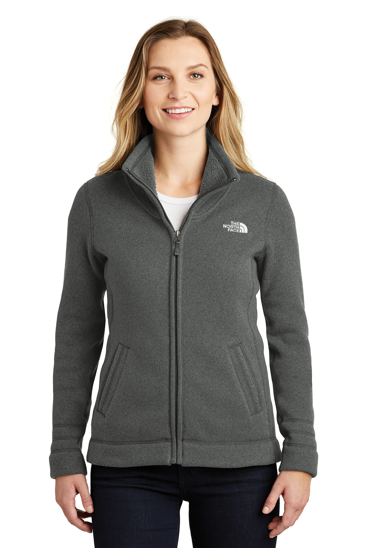 The North Face® NF0A3LH8 - Ladies Sweater Fleece Jacket