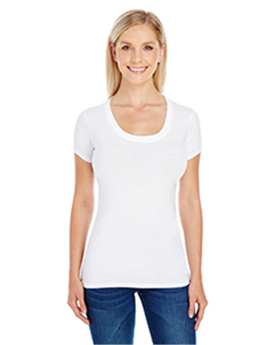 Threadfast 220S - Apparel Ladies' Spandex Short-Sleeve ...