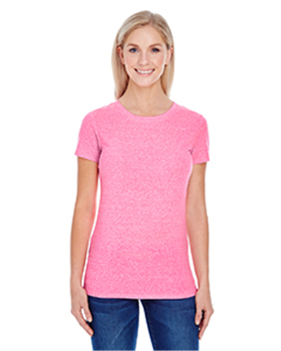 Threadfast Apparel 202A - Ladies' Triblend Short-Sleeve ...
