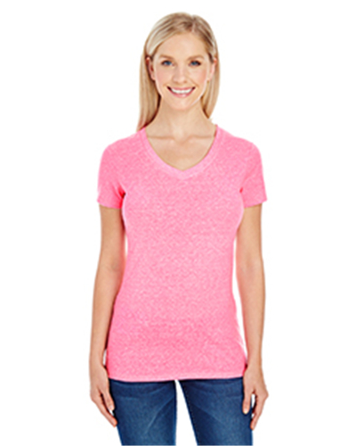 Threadfast Apparel 202B - Ladies' Triblend Short-Sleeve ...
