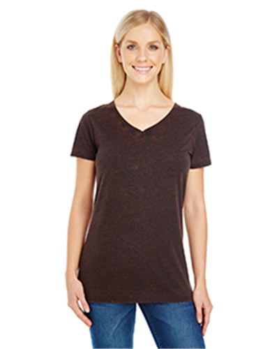 Threadfast Apparel 215B - Ladies' Cross Dye Short-Sleeve ...