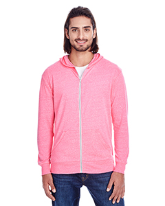Threadfast Apparel 302Z - Unisex Triblend Full-Zip Light ...