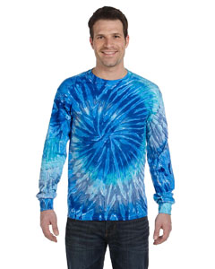 Tie-Dye CD2000 - 5.4 oz., 100% Cotton Long-Sleeve Tie-...