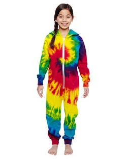 Tie-Dye CD892Y - Youth All-In-One Loungewear