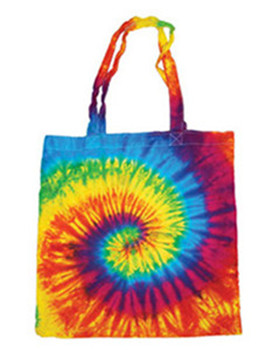 Tie-Dyed 9222 - Cotton Tote Bag