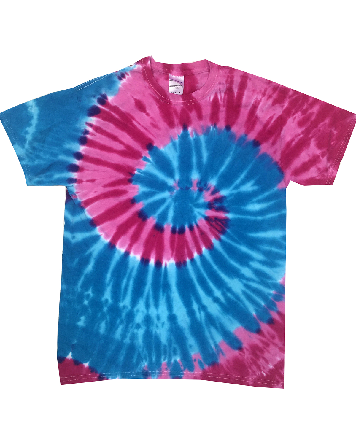 Tie-Dyed CD1180 - Adult Island Collection Tie-Dyed Tee