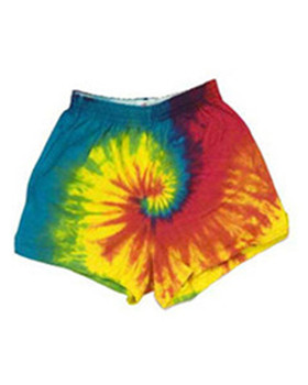 Tie-Dyed CD4000Y - 100% Cotton Youth 3inch Shorts