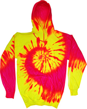 Tie-Dyed CD8700Y - Youth Fluorescent Tie-Dyed Pullover ...
