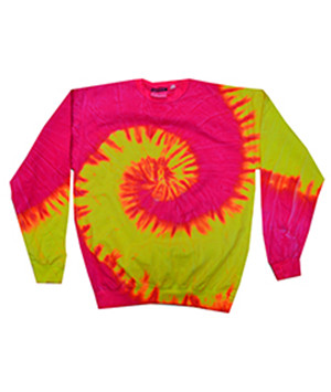 Tie-Dyed H8150 - Adult Pigment-Dyed Tie-Dyed Fleece