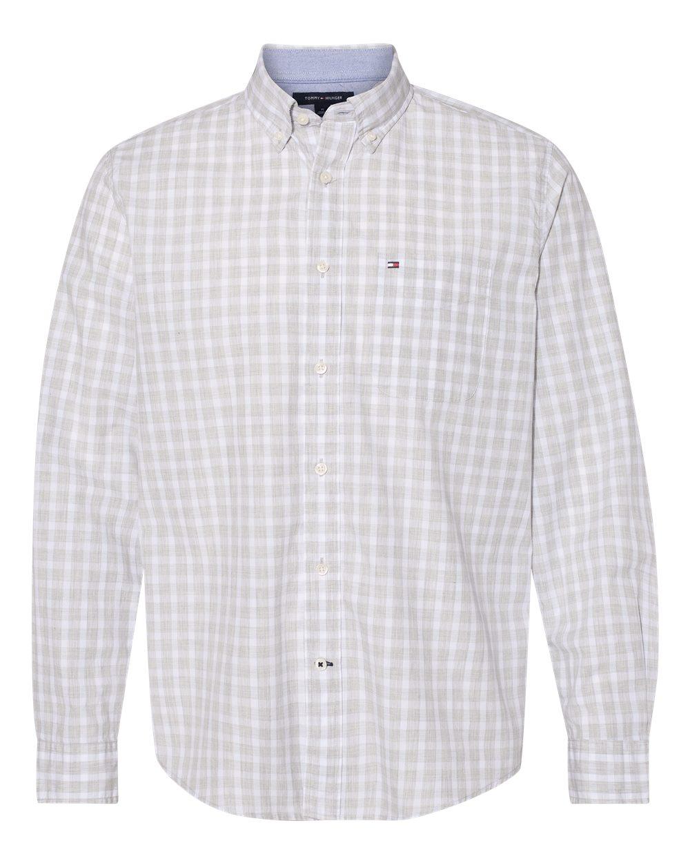 Tommy Hilfiger 13H1860 - Long Sleeve Plaid Shirt