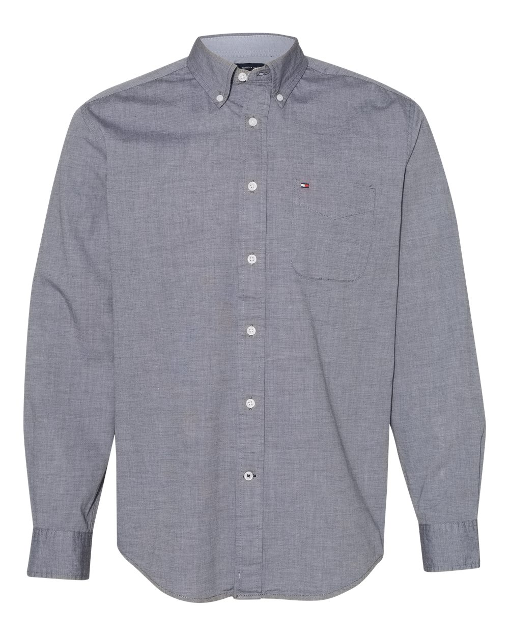 Tommy Hilfiger 13H1861 - Capote End-on-End Chambray Shirt