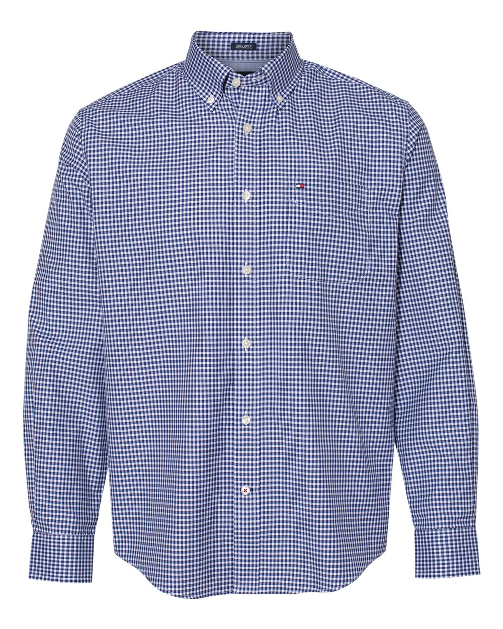 Tommy Hilfiger 13H1863 - 100s Two-Ply Gingham Shirt