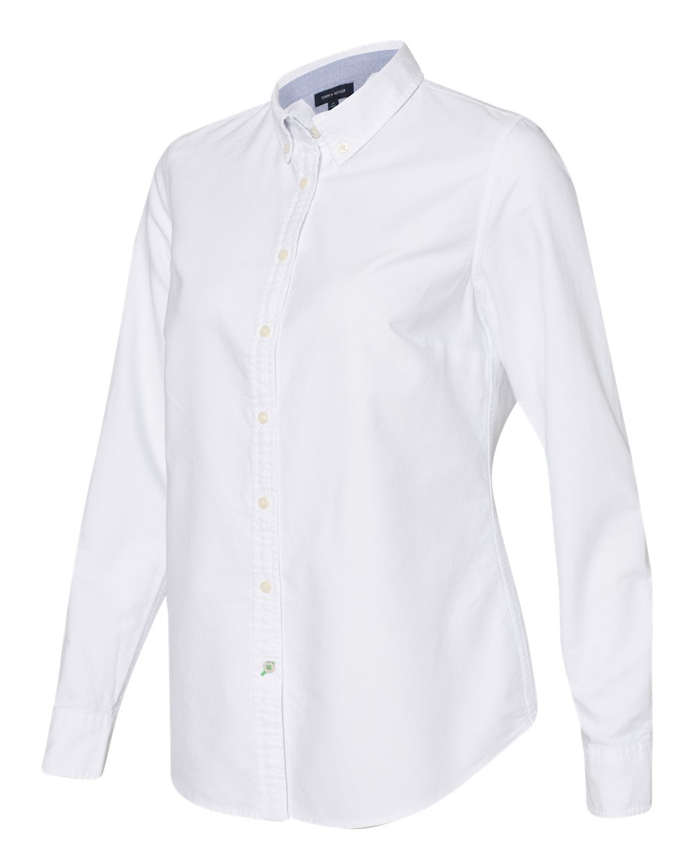 Tommy Hilfiger 13H4378 - Women's New England Solid Oxford Shirt