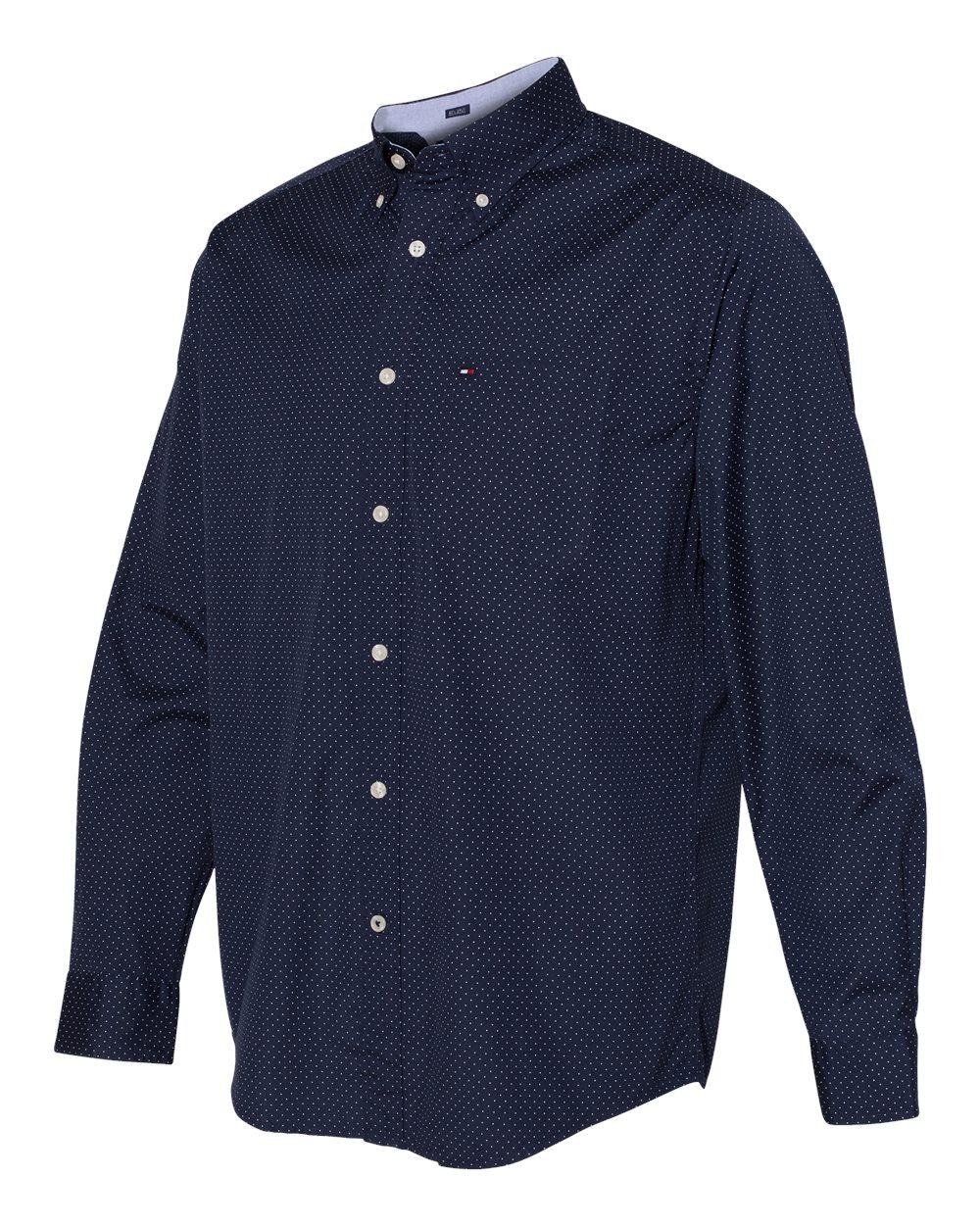 Tommy Hilfiger 13H4417 - 100s Two-Ply Polka Dot Shirt