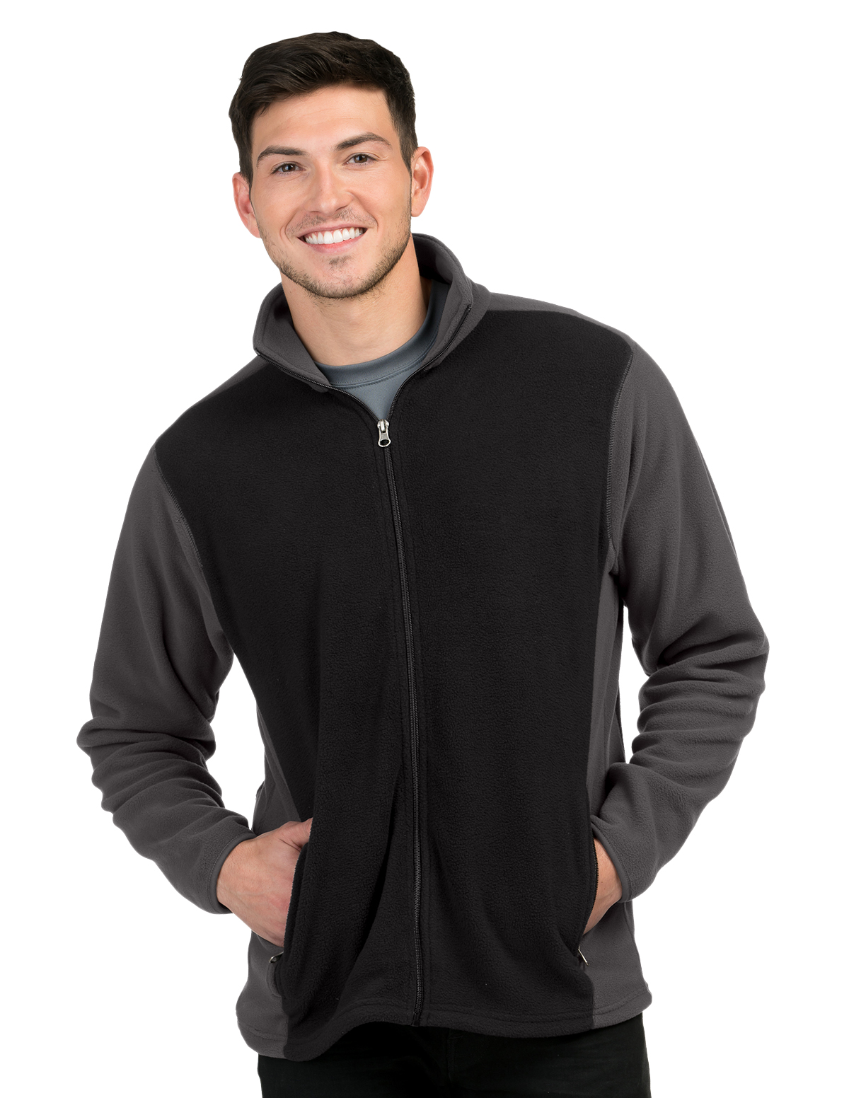 Tri-Mountain F7610 - Explorer Colorblock Fleece Jacket