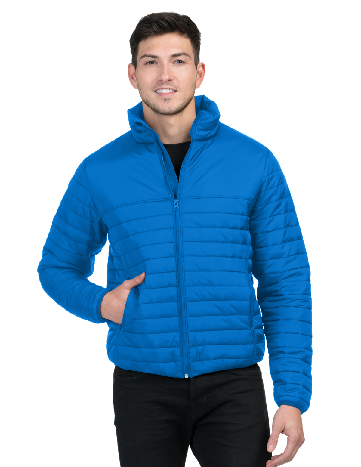Tri-Mountain J8260 - Canby  Men's Quilted Puffer Jacket