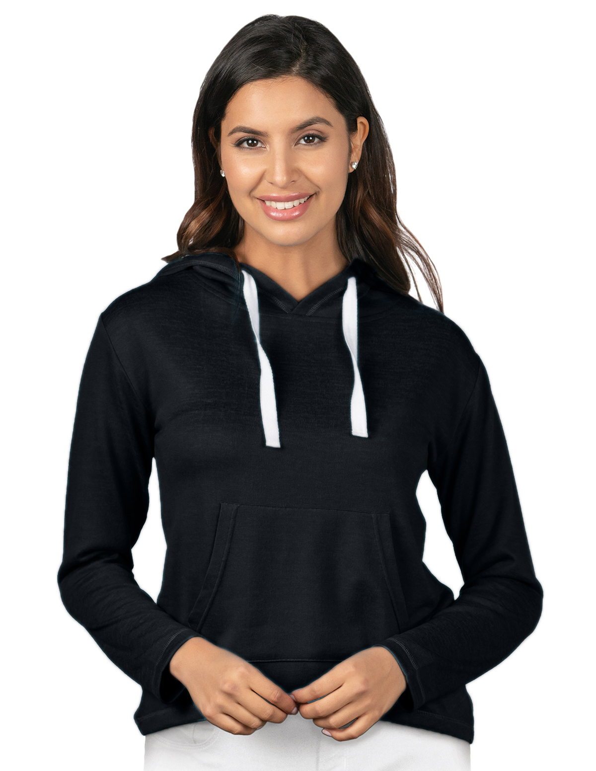 Tri-Mountain LB651 - Cassidy Women's Pullover Heather Knit Hoody