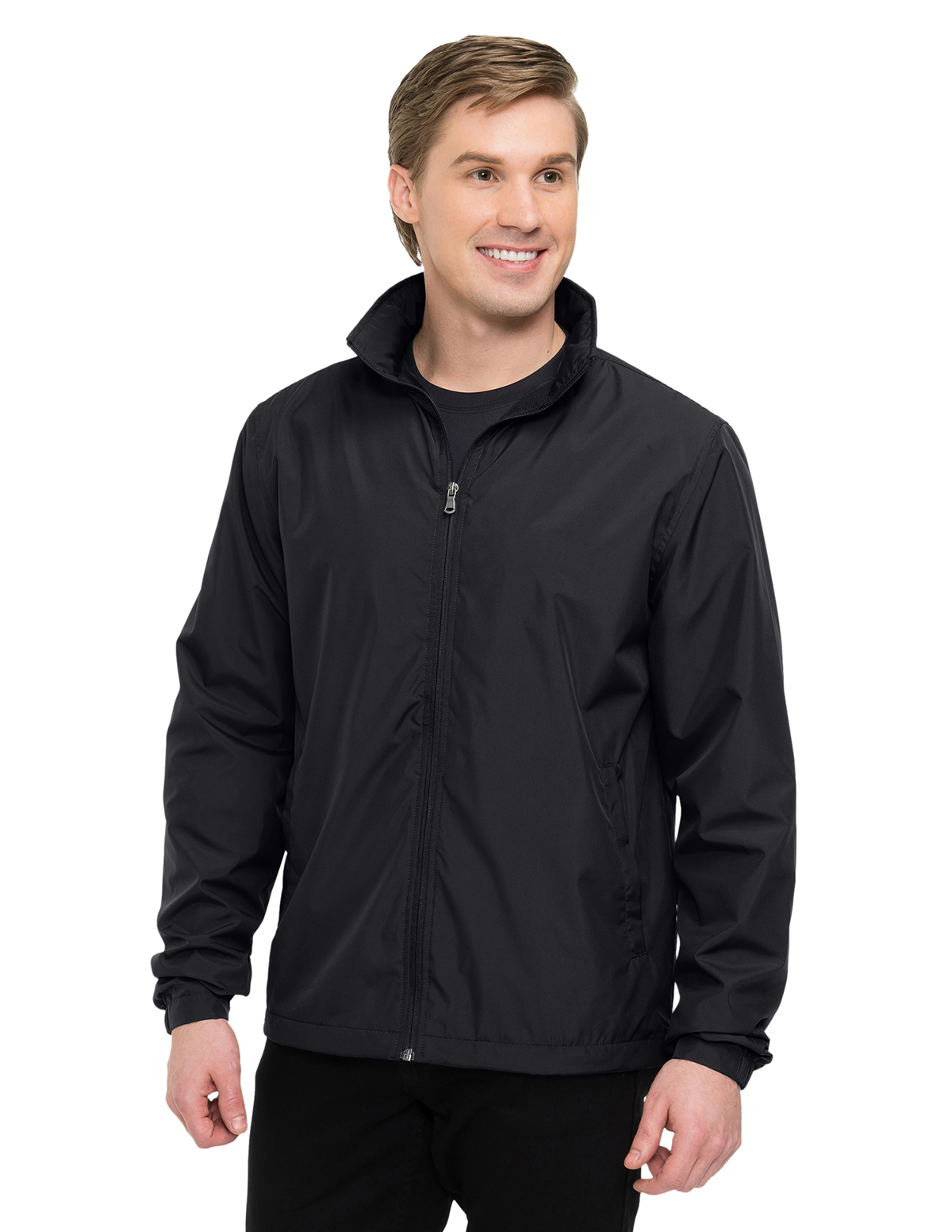 Tri-Mountain J1400 - Vital LWJ Men's 100% Polyester Lightweight Jacket