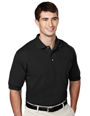Tri-Mountain Performance 106 - Image pique knit golf ...