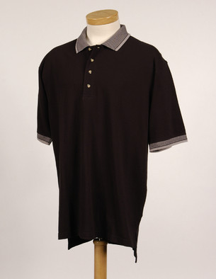 Tri-Mountain Performance 196 - Sterling men's knit shirt