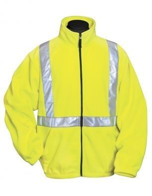 Tri-Mountain Performance 7130 - Precinct micro fleece safety jacket