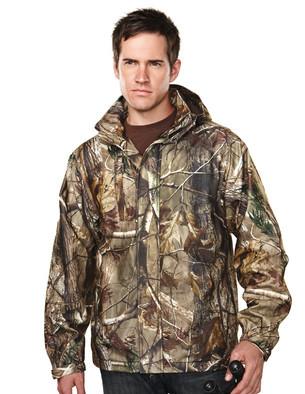 Tri-Mountain Performance 9486C - Reticle camo waterproof jacket