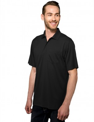 Tri-Mountain Performance K020P - Vital Pocket men's polo