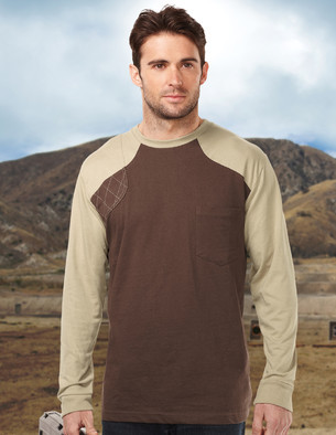 Tri-Mountain Performance K086LS - Woodruff long sleeve ...