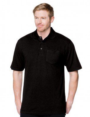 Tri-Mountain Performance K306P - short sleeve pocketed ...