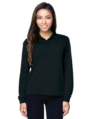 Tri-Mountain Performance KL020LS - Women's long sleeve polo