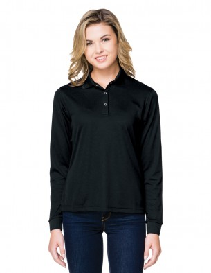 Tri-Mountain Performance KL022LS - Women's long sleeve polo
