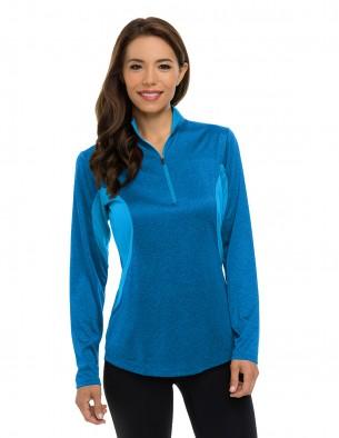 Tri-Mountain Performance KL210 - Women's Quarter zip pullover