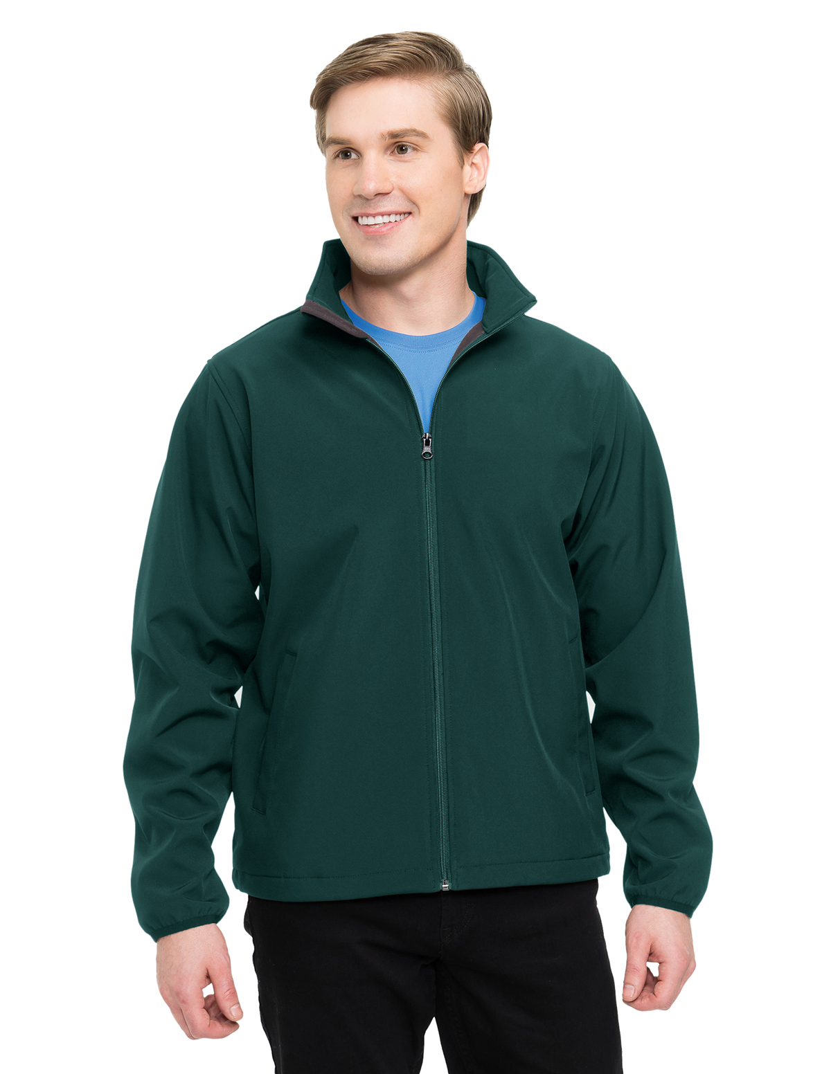 Tri-Mountain Performance J6350 - Men's Vital Bonded Soft Shell Jacket
