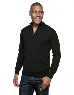 Tri-Mountain Performance SW941 - Quentin men's quarter zip sweater