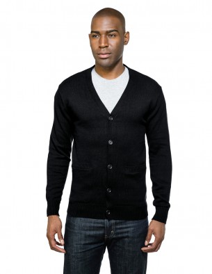 Tri-Mountain Performance SW942 - Carter men's cardigan sweater
