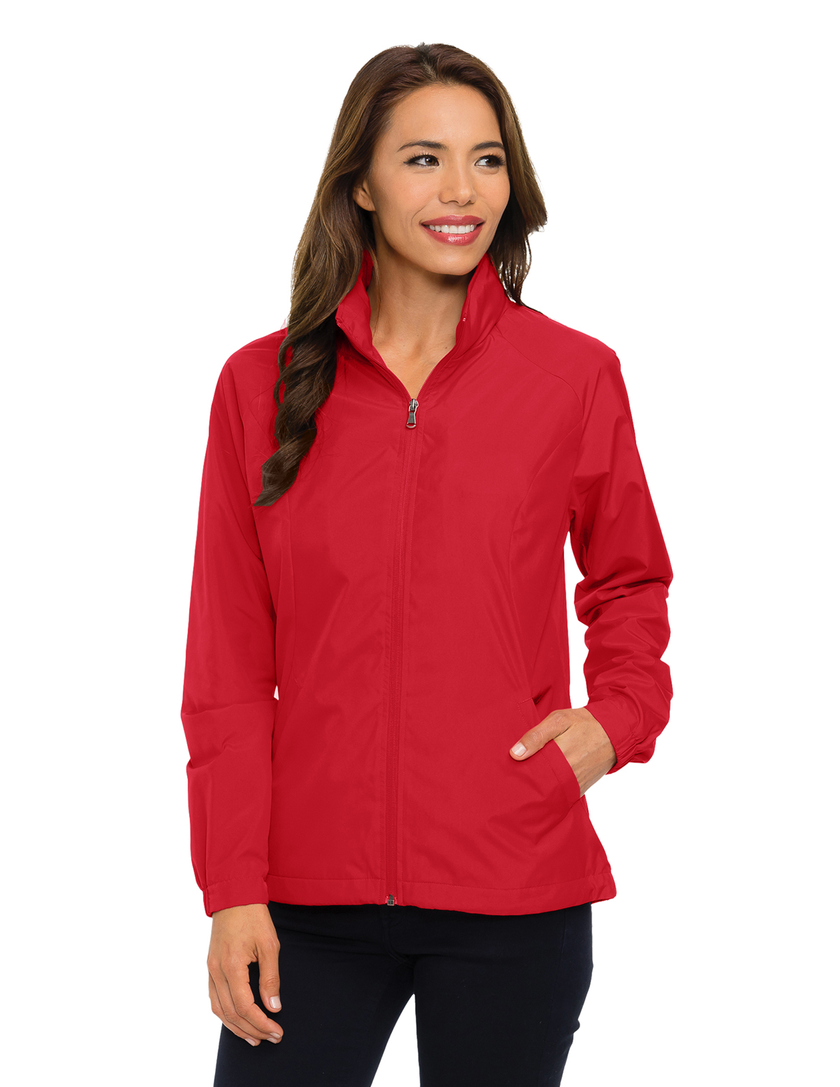 Tri-Mountain JL1400 - Lady Vital LWJ Women's 100% Polyester Lightweight Jacket