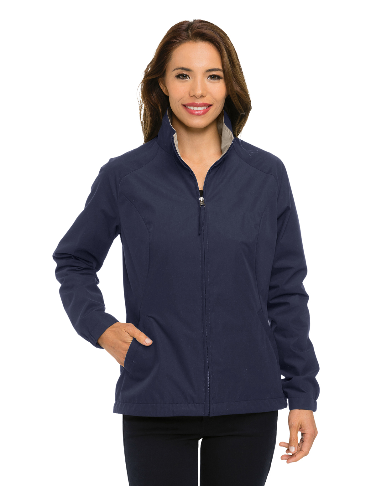 Tri-Mountain JL5308 - Radian Women's Lightweight Poplin Jacket